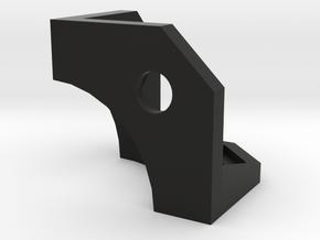 Cube-v4-corner-r3 in Black Natural Versatile Plastic