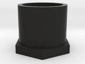 SCUBA - DIN Regulator Dust Cap in Black Natural Versatile Plastic