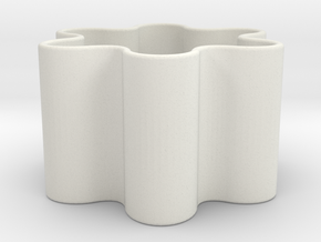double_height in White Natural Versatile Plastic
