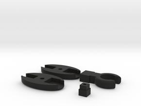 SCUBA - Rope Type - HP Hose Clip in Black Natural Versatile Plastic