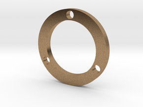 R-type Thin Full Round in Natural Brass