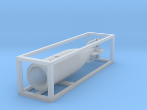 1 zu 72 loading Torpedo in Smooth Fine Detail Plastic