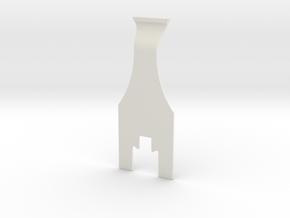Omega Spring Removal Tool in White Natural Versatile Plastic