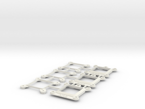 Socket AM2 CPU Bauble 3-Pack in White Strong & Flexible