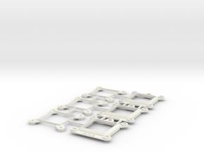 Socket AM2 CPU Bauble 3-Pack in White Natural Versatile Plastic