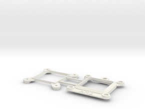 Socket AM2 CPU Bauble Single in White Strong & Flexible