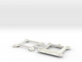 Socket AM2 CPU Bauble Single in White Natural Versatile Plastic