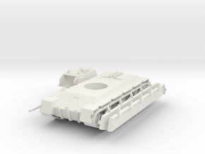 1/100 TVS Heavy Tank in White Strong & Flexible