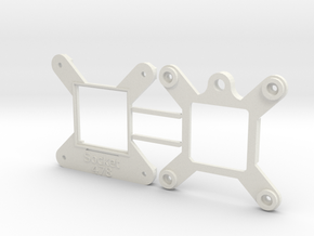 Socket 478 CPU Bauble Single in White Natural Versatile Plastic