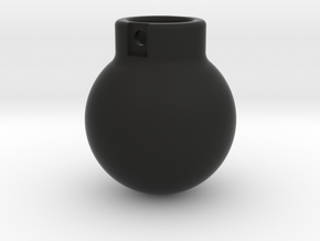 1-87 - 5000KG- Wrecking Ball - Ball Shape in Black Natural Versatile Plastic