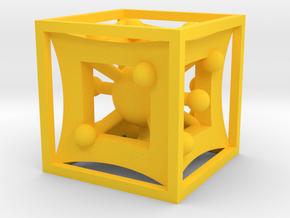 Funky Die in Yellow Processed Versatile Plastic