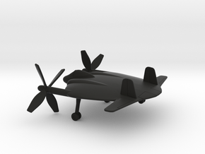 Vought XF5U-1 Flying Flapjack in Black Natural Versatile Plastic: 1:160 - N