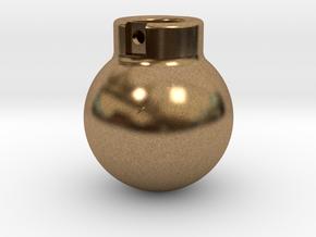 1-50 - 5000KG- Wrecking Ball - Ball Shape in Natural Brass