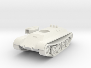 1/100 LVS Light Tank in White Natural Versatile Plastic