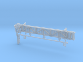1:72 scale Walkway - Port - Long in Smooth Fine Detail Plastic
