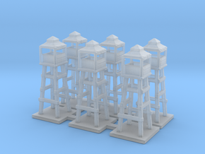 1/285 watch tower x6 in Smooth Fine Detail Plastic