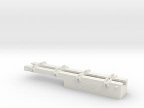 1/87 Scale Bridge Load in White Natural Versatile Plastic