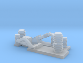 AC Electoric parts 1 in Smooth Fine Detail Plastic