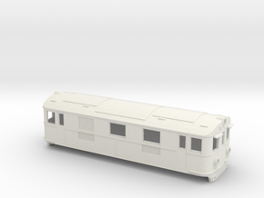 Swedish GBJ/SJ electric locomotive type Bg/Bs - H0 in White Natural Versatile Plastic