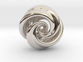 Integrable Flow (7, 2) in Rhodium Plated Brass