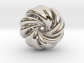 Integrable Flow (6, 5) in Rhodium Plated Brass