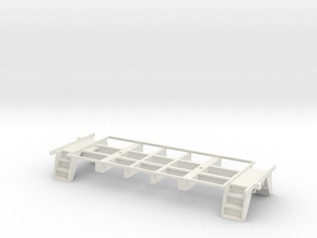 Caboose 25 Foot Frame in White Natural Versatile Plastic