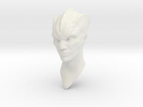 Krill female III - 1:6 scale in White Natural Versatile Plastic