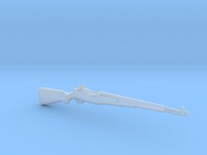 M1 Garand (1:18 scale) in Smooth Fine Detail Plastic: 1:18