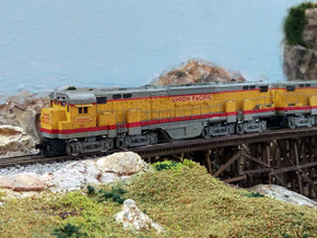 N Scale Alco C-855 Locomotive Shell Deluxe in Smooth Fine Detail Plastic