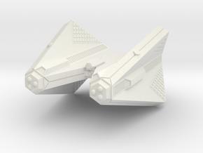3125 Scale Tholian Web Caster Heavy Cruiser SRZ in White Natural Versatile Plastic