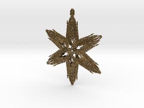 Snowflake C in Natural Bronze