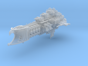 Armageddon Battlecruiser in Frosted Ultra Detail