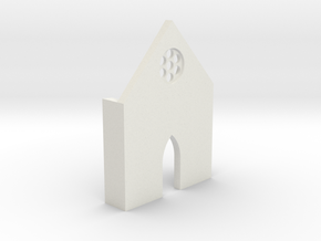 shkr007 - Teil 7 Front niedrig lang Fenster in White Natural Versatile Plastic