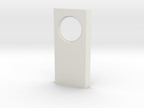 shkr025 - Teil 25 Seitenwand mit Fensterleibung ru in White Natural Versatile Plastic