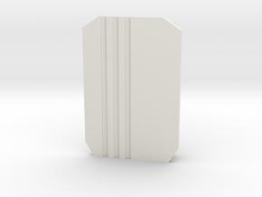The 13-13 in White Premium Versatile Plastic