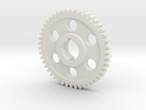 "46T Atlas/Craftsman 12"" lathe Change Gear in White Natural Versatile Plastic"