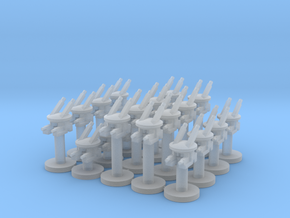 20 Automatons in Smooth Fine Detail Plastic