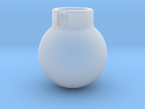 1-160 Wrecking Ball - Ball Shape 2500KG in Smooth Fine Detail Plastic