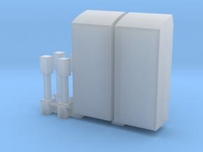 Kaartautomaat en stempelautomaat NS schaal TT in Smoothest Fine Detail Plastic