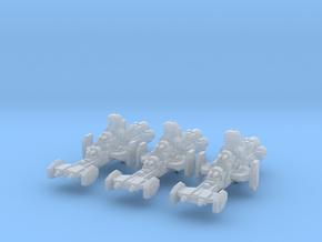 Gladiator Frigates (3) in Smooth Fine Detail Plastic