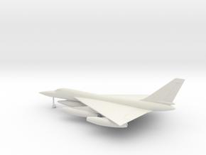 Convair B-58 Hustler in White Natural Versatile Plastic: 1:200