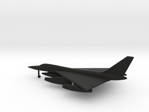 Convair B-58 Hustler in Black Natural Versatile Plastic: 1:400
