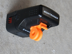 GoPro mount for Bontrager Ion 350/450/Elite/Pro in Orange Processed Versatile Plastic