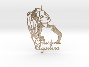 Christina Aguilera Pendant - Exclusive Jewellery in Polished Gold Steel