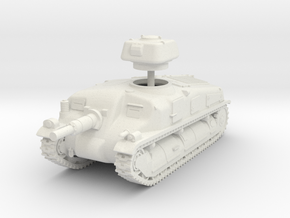 1/72 SAu-40 SPG in White Natural Versatile Plastic