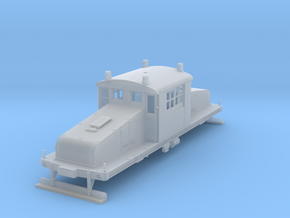HO GE 50 Ton Steeplecab- Large Pantograph Edition  in Frosted Ultra Detail