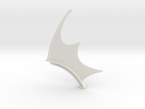 Power Scream spine in White Natural Versatile Plastic