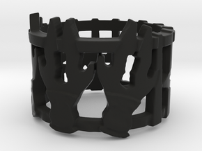 Daggers Of Kut'Luch Ring in Black Natural Versatile Plastic: 4.5 / 47.75