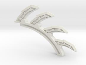 Chain Lightning spine in White Natural Versatile Plastic