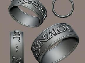 Sinzalot Ring in Stainless Steel